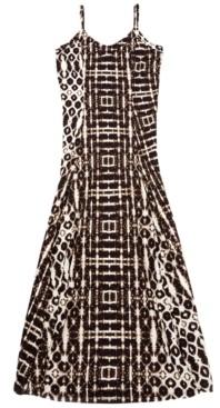 INC International Concepts Inc Batik-Print Maxi Dress, Created for Macy's