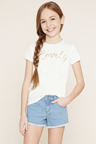 Forever 21 Girls Lovely Graphic Tee (Kids)
