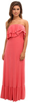 T-Bags LosAngeles Tbags Los Angeles Layered Ruffle Maxi Dress