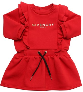 Givenchy Logo Print Sweat Dress