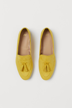 H&M Tasseled Loafers - Yellow