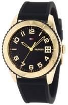 Tommy Hilfiger Women's 1781120 Black Silicone Quartz Watch