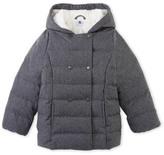 Petit Bateau Waterproof Flannel Deviato Hooded Down Jacket