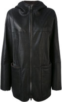 Iris von Arnim oversized coat - women - Nappa Leather - XS