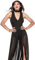 GUESS Women's Rosalina Mesh Dress