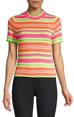 Opening Ceremony Stripe Merino Wool Knit Tee