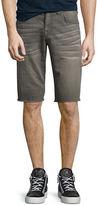True Religion Geno Overdye Active Slim-Fit Denim Shorts