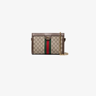 Gucci beige Ophidia GG small shoulder bag