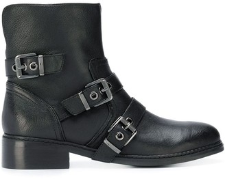 KENDALL + KYLIE Buckled Cargo Boots