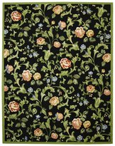 Safavieh Chelsea Collection HK310B Hand-Hooked Wool Area Rug, 8 feet 9 inches by 11 feet 9 inches