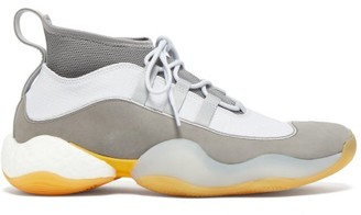Adidas X Bed J.w Ford - Crazy Byw Nubuck Sock Trainers - Grey