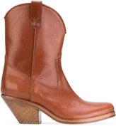 A.F.Vandevorst cowboy boots - women - Calf Leather/Leather - 36.5