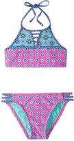 Hobie Girls' Mix It Up High Neck Bikini Set (714) - 8152016