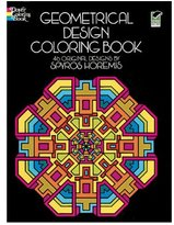 Dover Coloring Book Geometrical Design