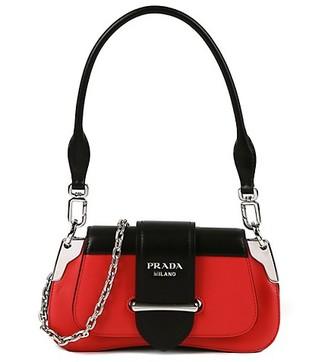 Prada Two-Tone Leather Mini Purse