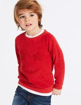 Marks and Spencer Cotton Blend Sweatshirt (3 Months - 7 Years)