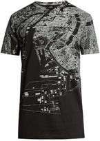 Jil Sander Map-print Short-sleeved T-shirt
