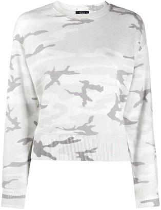 Rails Camouflage-Print Crew Neck Sweatshirt