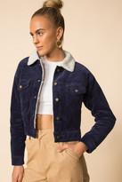 superdown Elena Cropped Trucker Jacket