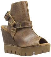 Sbicca Camel Rayanne Leather Sandal