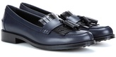 Tod's Frangia Leather Loafers