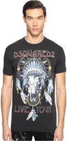 DSQUARED2 Men's Glam Rock Tour T-Shirt T-Shirt