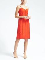 Banana Republic Linen-Blend Slip Dress