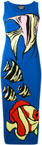 Moschino knitted fitted midi dress - women - Cotton - 38