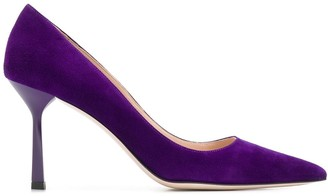 Miu Miu suede pointed toe pumps