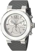 Invicta Women's 'Ocean Reef' Quartz Stainless Steel and Silicone Casual Watch, Color: (Model: 90279)