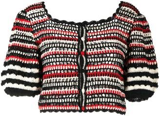 Ulla Johnson Knit Cropped Cardigan
