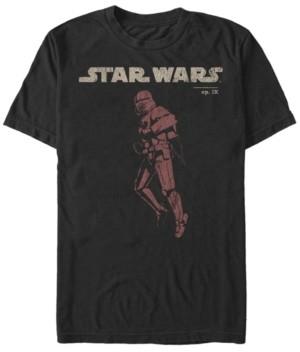 Star Wars Men's Rise Of Skywalker Sith Trooper Jet Pack Short Sleeve T-Shirt