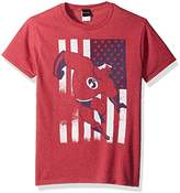 Disney Men's Incredibles American USA Flag Graphic Patriotic T-Shirt