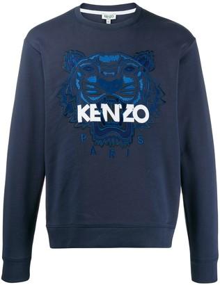 Kenzo Tiger logo sweatshirt