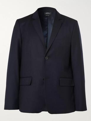 A.P.C. Spencer Virgin Wool-Flannel Suit Jacket