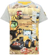 M&Co Team JCB printed t-shirt