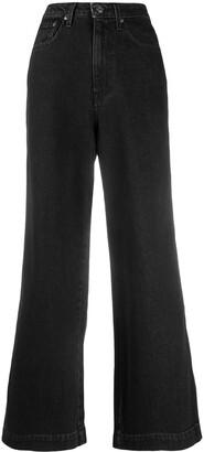 Nanushka High-Waisted Wide Leg Jeans