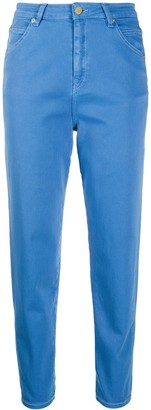 Temperley London Fontana high-rise cropped skinny jeans