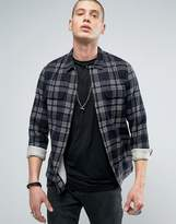 AllSaints Checked Shirt in Slim Fit