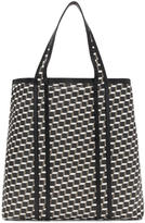 Pierre Hardy Black and White Archi Cube Tote