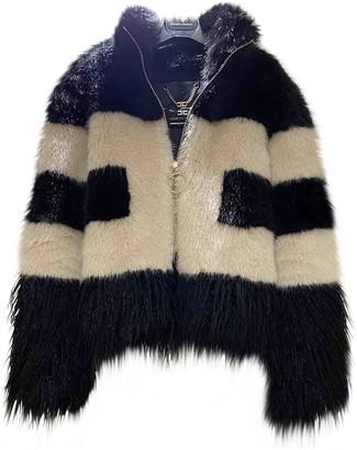 Elisabetta Franchi Multicolour Faux fur Jacket for Women