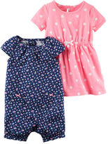 Carter's 2-Pack Dress & Romper Set
