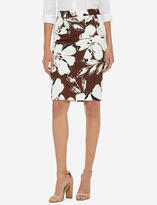 The Limited Printed Pencil Skirt