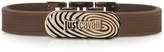 Just Cavalli Touch Brown Silicon Men's Bracelet