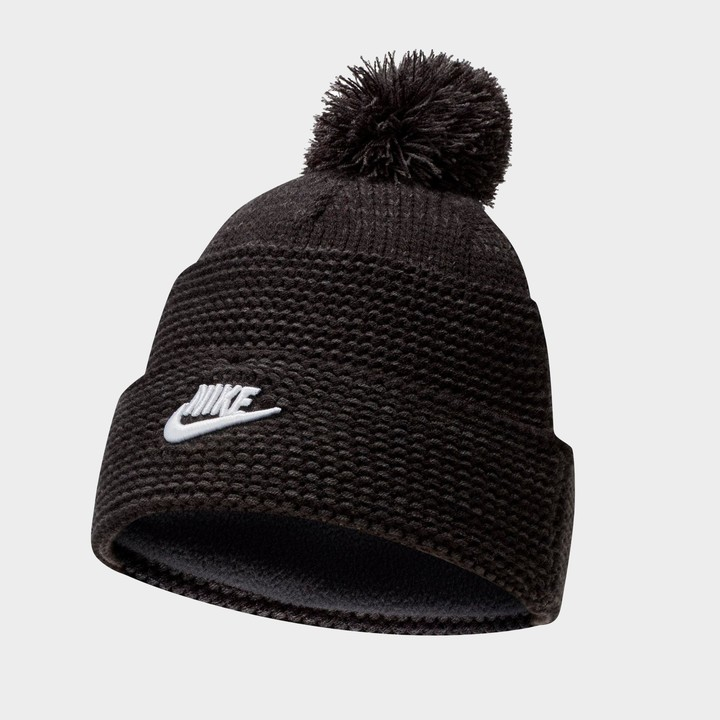 Thumbnail for your product : Nike Sportswear Cuffed Futura Pom Beanie Hat