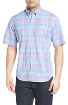 Tailorbyrd Men's Big & Tall Hemlock Plaid Sport Shirt