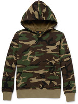 Neighborhood Camouflage-Print Cotton-Jersey Hoodie