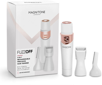 Magnitone Fuzz Off 3-In-1 Rechargeable Precision Trimmer White