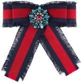 Gucci Web grosgrain bow brooch