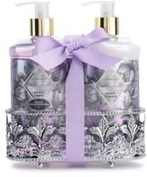 Simple Pleasures Fancy Caddy Lavender Vanilla Hand Soap And Hand Cream